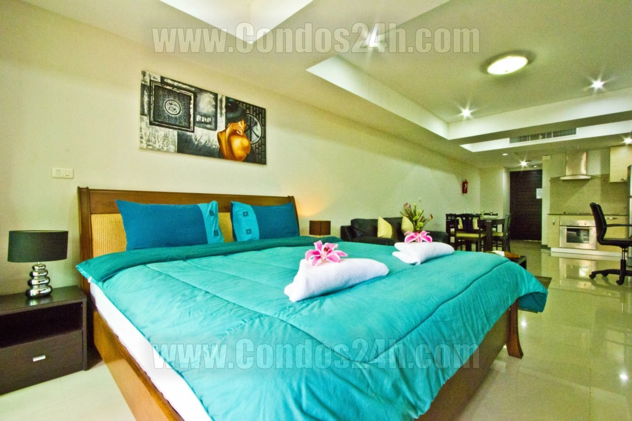 Condos24h cozy studio apartment in patong phuket for Patong apartments